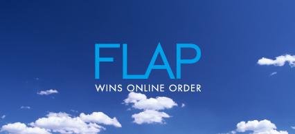 FLAP wins online order